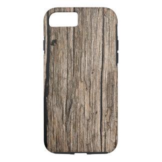 iPhone 7 hoesje houten wijnoogst