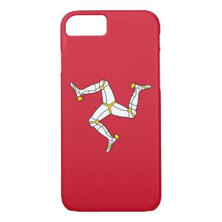iPhone 7 hoesje met de Vlag van het Eiland Man,