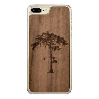 Iphone 7 plus boomontwerp carved iPhone 8 plus / 7 plus hoesje