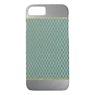 iPhone 7 van Aqua van het Patroon van de diamant iPhone 7 Hoesje