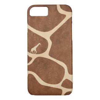 iPhone 7 van de Druk van de giraf hoesje