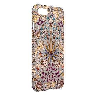 iPhone 7 van de Hyacint van de duif Grijze Hoesje