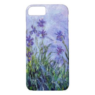 iPhone 7 van de Irissen van Monet Lila hoesje