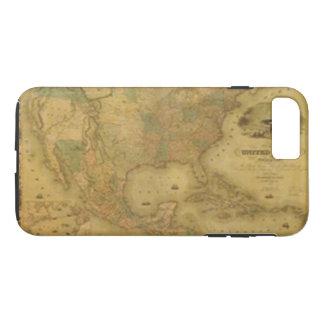 iPhone 7 van de Kaart van de V.S. Hoesje