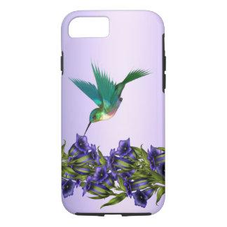iPhone 7 van de Kolibrie van paarse Viooltjes iPhone 8/7 Hoesje