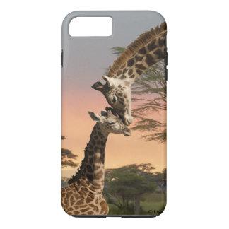 iPhone 7 van de moeder en van de Giraf van het iPhone 7 Plus Hoesje