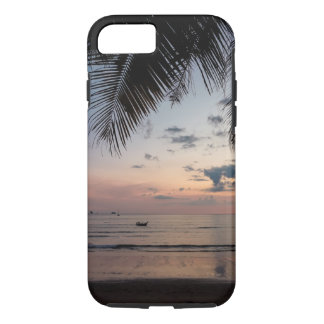 iPhone 7 van de palm en van het Strand Taai Hoesje