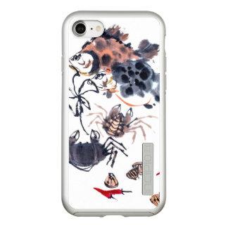 iPhone 7 van de waterverf DualPro glanst, Incipio DualPro Shine iPhone 8/7 Hoesje