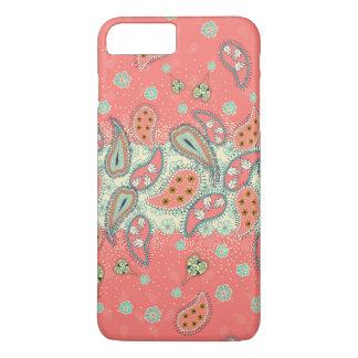 iPhone 7 van het Patroon van Girly Paisley van iPhone 8/7 Plus Hoesje