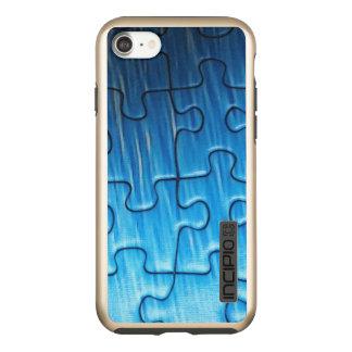 iPhone 7 van het raadsel DualPro glanst, Goud Incipio DualPro Shine iPhone 8/7 Hoesje