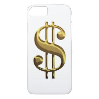 iPhone 7 van het Teken van de dollar hoesje