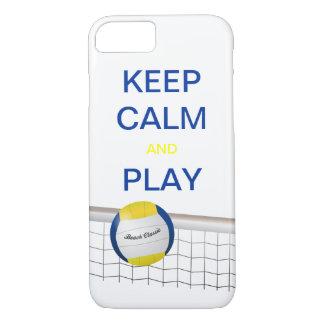 iPhone 7 van het Volleyball van het strand Hoesje