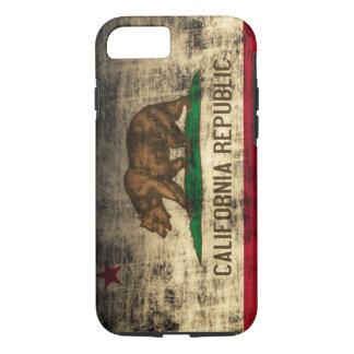 iPhone 7 van Vibe van de Vlag van Californië iPhone 7 Hoesje
