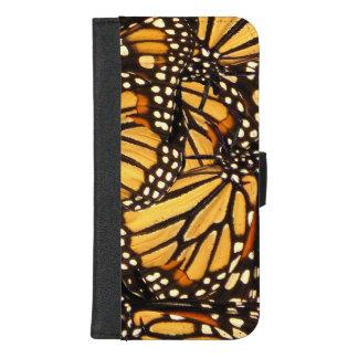iPhone 8/7 van de Vlinder van de monarch plus het iPhone 8/7 Plus Portemonnee Hoesje