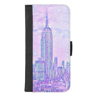 iPhone 8/7 van het Leven van de stad plus het iPhone 8/7 Plus Portemonnee Hoesje