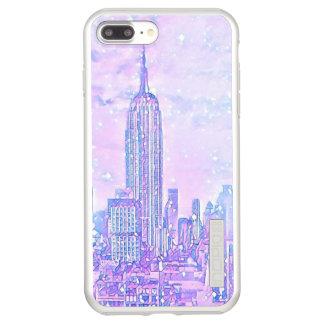 iPhone 8/7 van het Leven van de stad plus Incipio DualPro Shine iPhone 8/7 Plus Hoesje