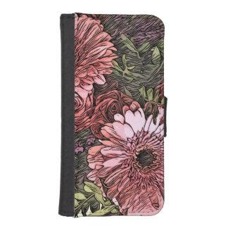 iPhone bloemenportefeuille iPhone 5 Portemonnee Hoesje