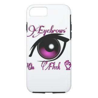 """""""iPhone de Wenkbrauwen 7 van het Hoesje"""" op Fleek iPhone 7 Hoesje"""