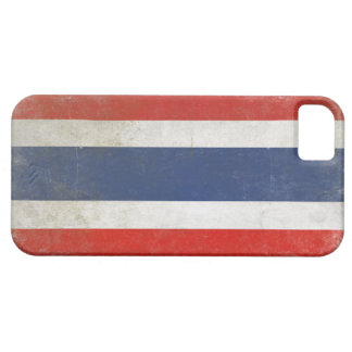 iPhone Hoesje met de Verontruste Vlag van Thailand