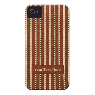"""iPhone hoesje-partner van de Strepen """"van Latte va iPhone 4 Hoesje"""