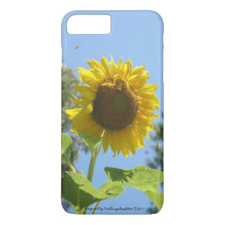 iPhone/iPad hoesje, heldere zonnebloem iPhone 8/7 Plus Hoesje