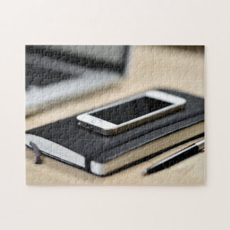iPhone, Notitieboekje, en Pen Puzzels