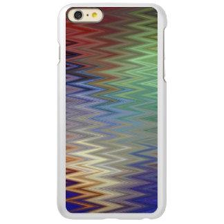 iPhone van de Zigzag van de kleur 6/6S plus Incipio Feather® Shine iPhone 6 Plus Hoesje