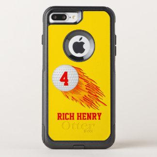 iPhone van het Golf van OtterBox sluit Uw Tekst en