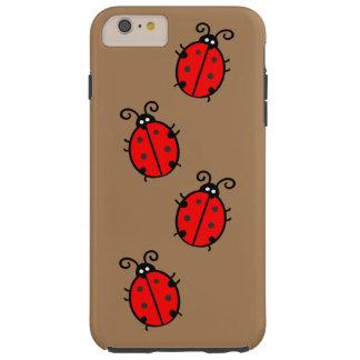 iPhone van het lieveheersbeestje 6/6s plus, Taai Tough iPhone 6 Plus Hoesje