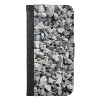 iPhone van het Ontwerp van het kalksteen 6/6s plus iPhone 6/6s Plus Portemonnee Hoesje
