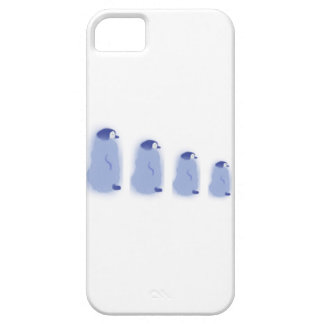 iPhone van vier Pinguïn/het Hoesje van Samsung