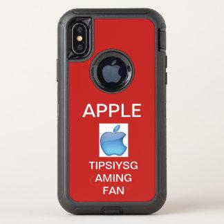 Iphone X van Apple hoesje door tipsiysgaming