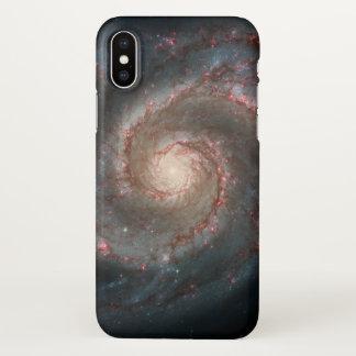 iPhone X van de Melkweg van de draaikolk Hoesje