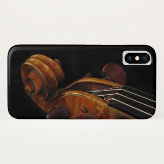 iPhone X van de Muziek van de Rol van de viool iPhone X Hoesje
