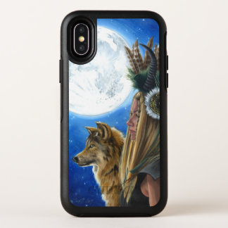 iPhone X van de Strijder van de Maan van de Wolf