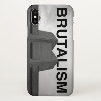 iPhone X van het Theater van Brutalism Hoesje