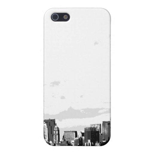 Iphonegeval van de Horizon van de Stad van New Yor iPhone 5 Covers