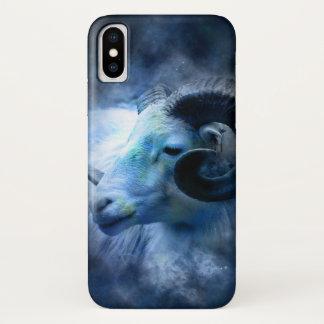 iPhonehoesje van de dierenriem - Ram iPhone X Hoesje
