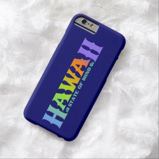 iPhonehoesje van de Kleuren van de Regenboog van Barely There iPhone 6 Hoesje