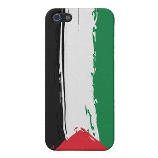iPhonehoesje van de Vlag van Palestina Grunge iPhone 5 Hoesje