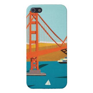 iPhoneHoesje van golden gate bridge iPhone 5 Hoesje