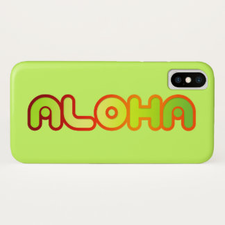 iPhonehoesje van Hawaï van Aloha iPhone X Hoesje