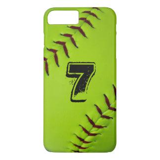 Iphonehoesje van het softball iPhone 8/7 plus hoesje