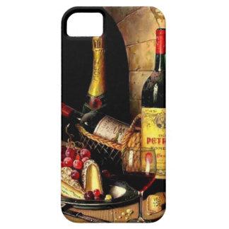 iphonehoesje van wijnflessen barely there iPhone 5 hoesje