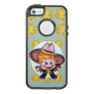 iPhoneSE/5/5s Cs van Apple van de COWBOY van het OtterBox iPhone 5/5s/SE Hoesje
