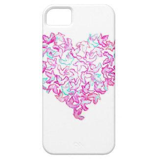 iPhoneSE/5/5S Hoesje van het hart en van de Duif