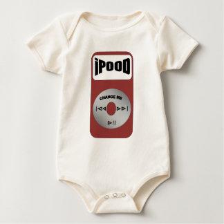 ipood de dwarsbalk van het muziekbaby baby shirt