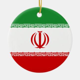 Iran Rond Keramisch Ornament