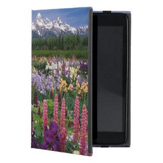 Iris en tuin Lupine en Waaier Teton, iPad Mini Hoesje