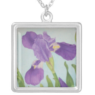 Iris Zilver Vergulden Ketting